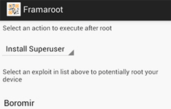 rooting apps to root android
